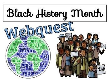 Black History Month Webquest - Using Google Slides - NO ...