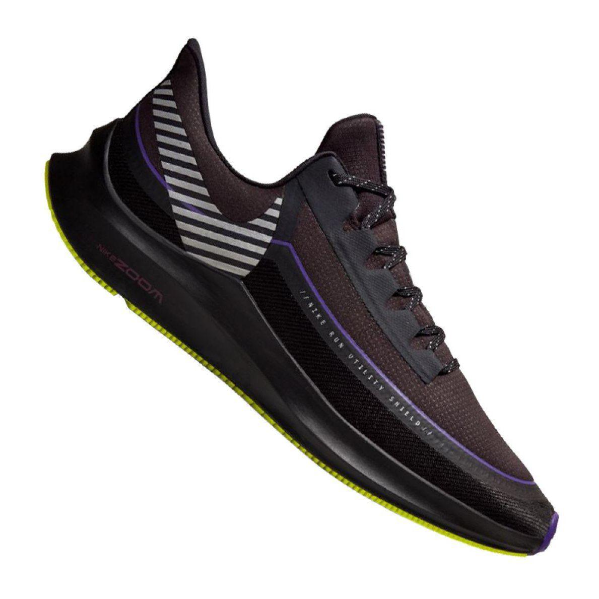 Buty Nike Zoom Winflo 6 Shield M Bq3190 002 Czarne Nike Zoom Mens Nike Shoes Running Shoes For Men