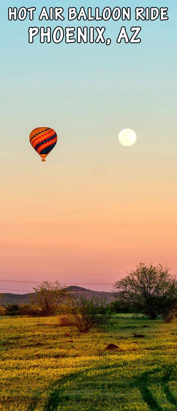 Float over the Desert Phoenix Hot Air Balloon Rides