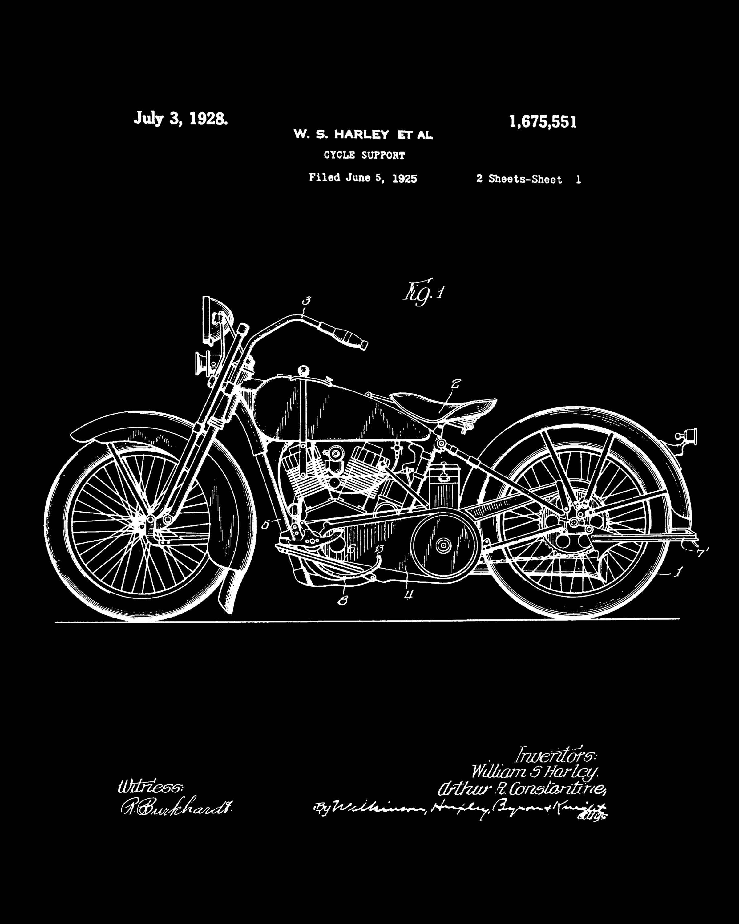 e091ae9a Harley Davidson blueprint Downloadable on Etsy to print on your home  printer. The one you download will be in high resolution for the perfect 10  x 8 print.