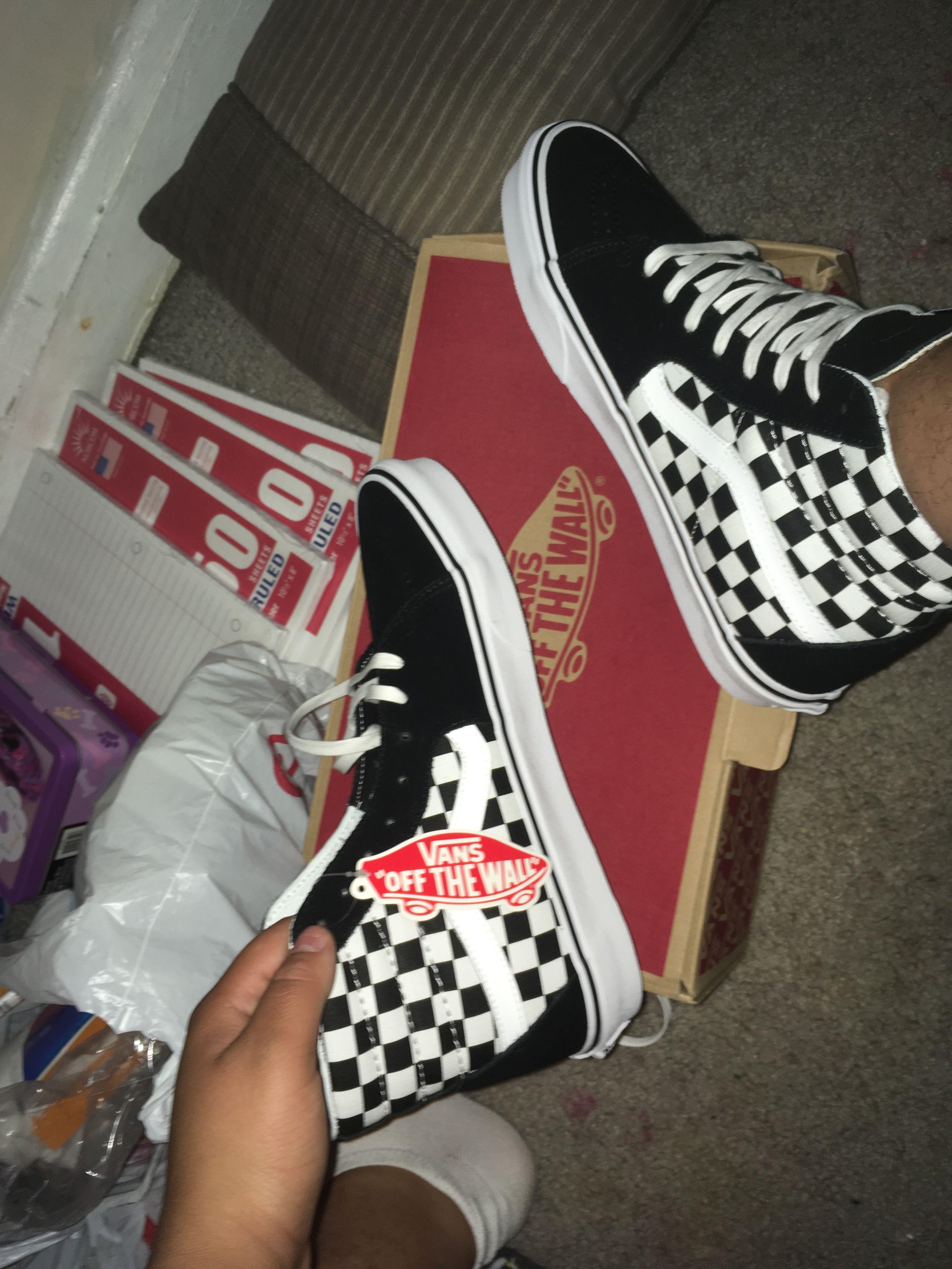 Vans boots, Vans shoes, Vans checkered