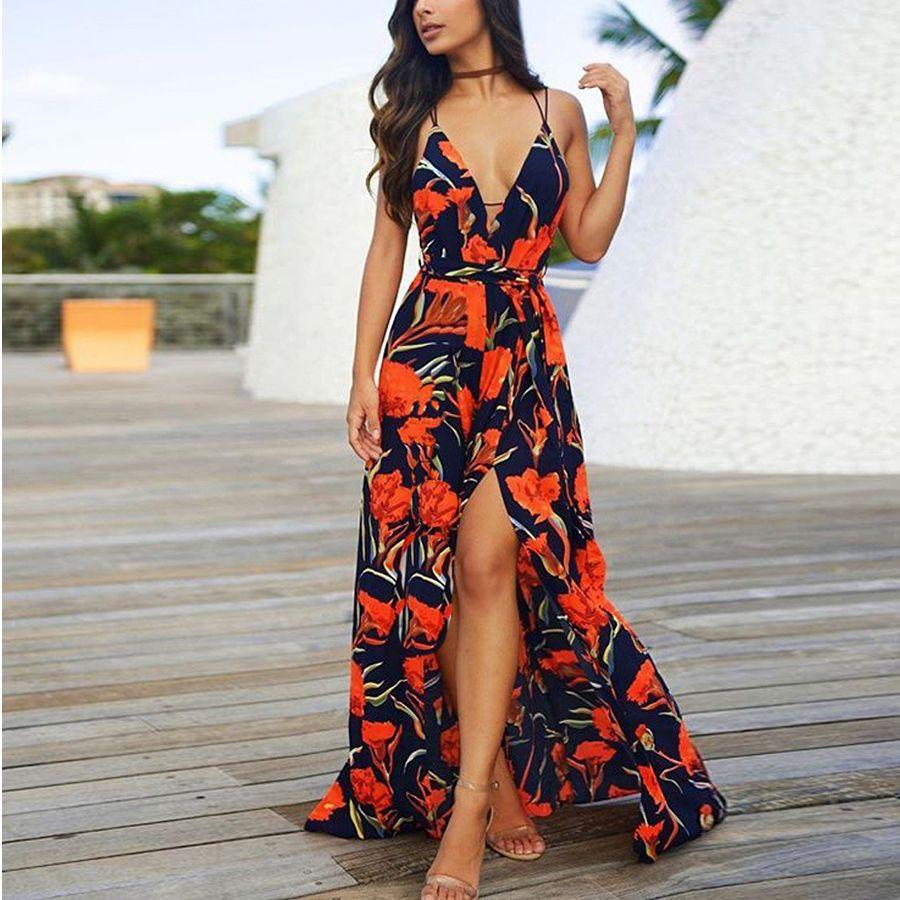 Pin on vacation dresses maxi