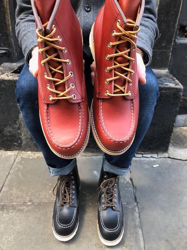 5bbd100a207 Pin by Peace😎 on Men Rugged boots in 2019 | Shoe boots, Red wing ...