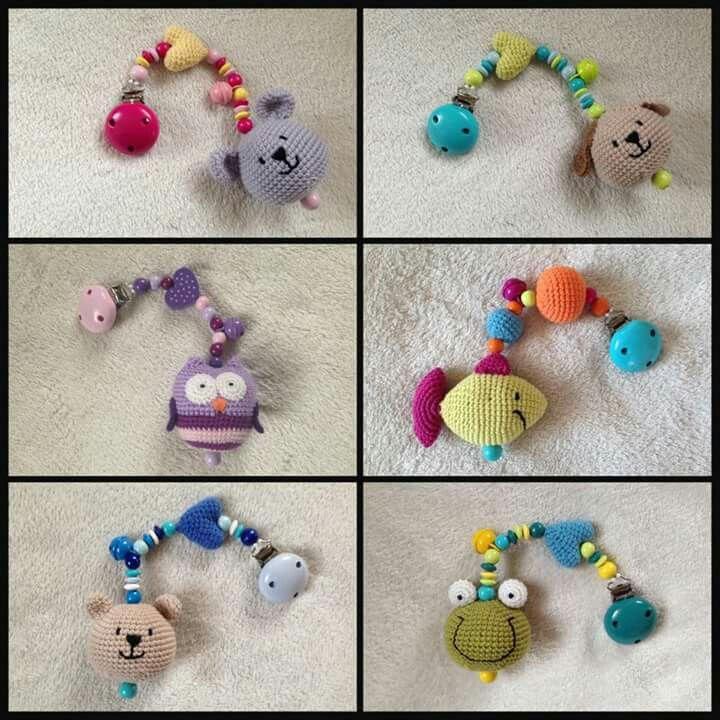Pin de Kazeleka crochet toys en baby rattle slingo toys | Pinterest ...