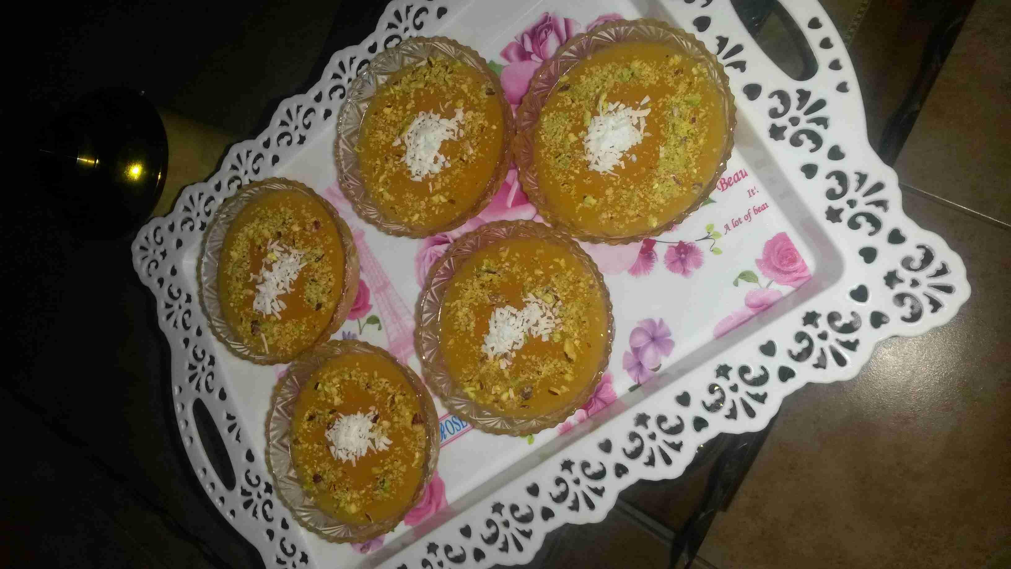 مهلبية قمر الدين ملكة الاطباق الجانبية في رمضان زاكي Food Breakfast Muffin