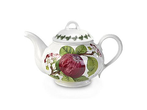 Portmeirion Pomona Breakfast Cup and Saucer Romantic Shape Set of 6