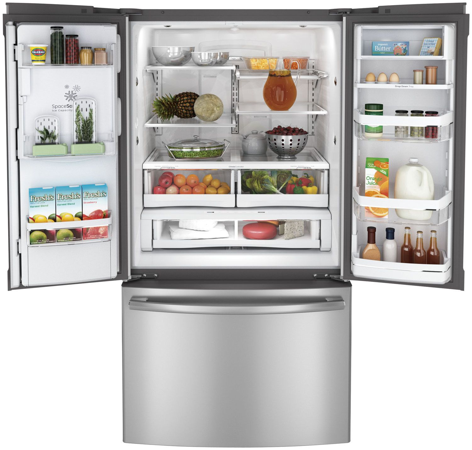 Google Image Result For Http Imagethumbnails Milo Com 029 674 589 Trimmed 2967 With Images Stainless Steel French Door Refrigerator French Door Refrigerator French Doors