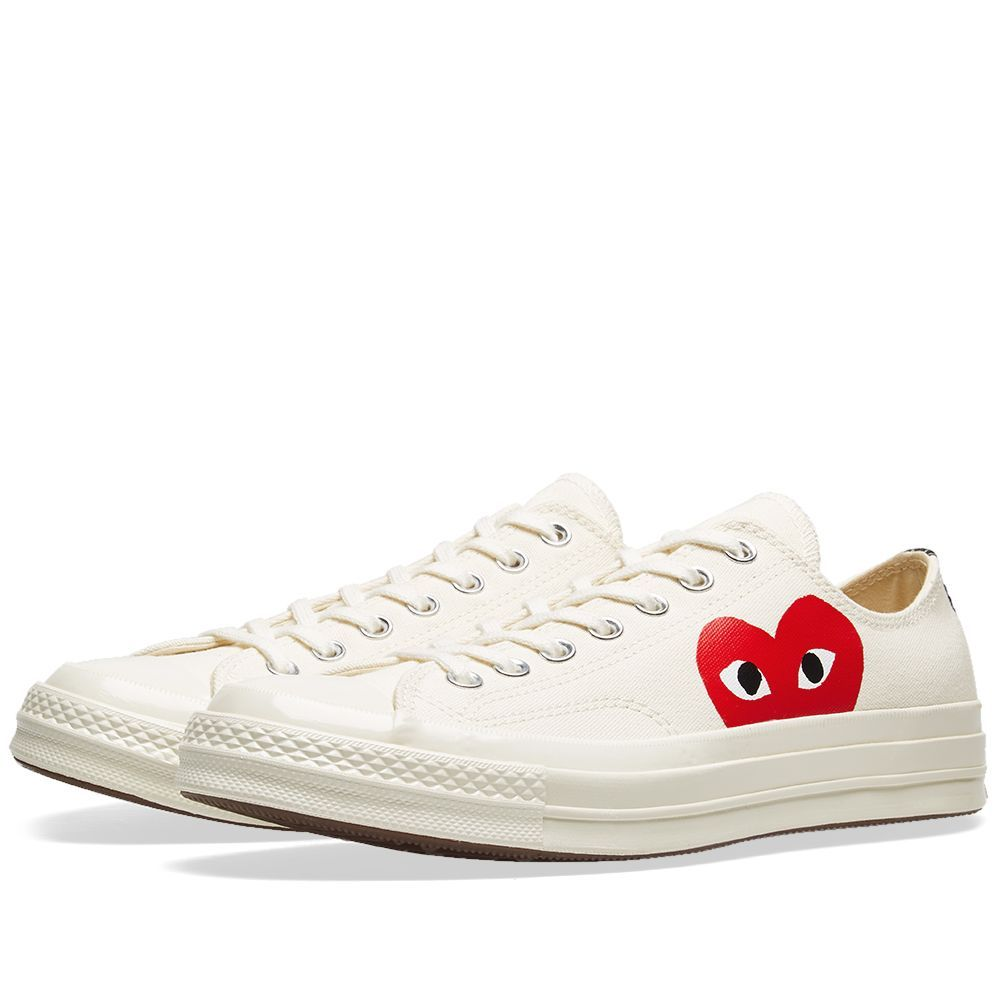 Comme des Garcons Play x Converse Chuck Taylor 1970s Ox