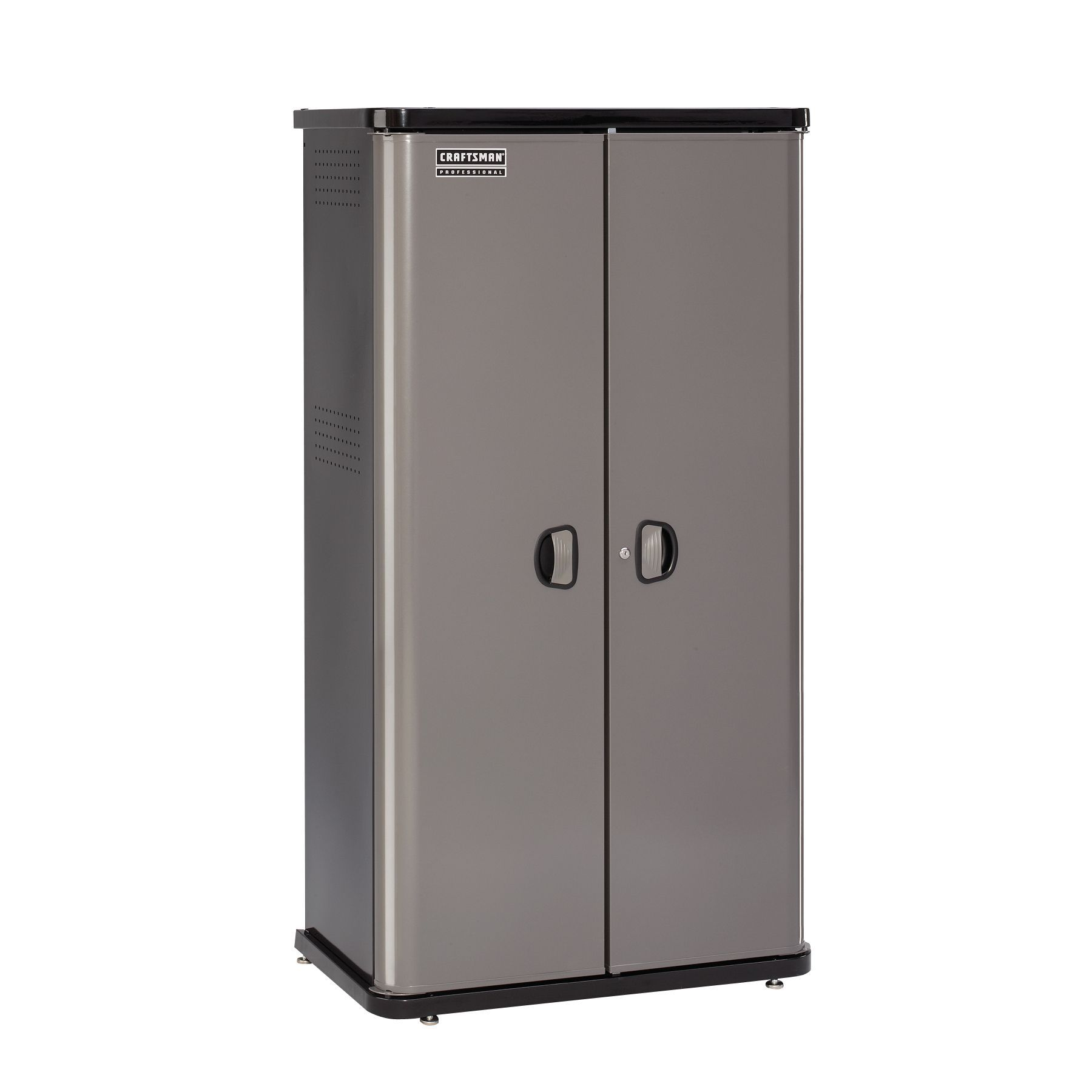 36 Inch Platinum Locker Style Floor Cabinet: Store Tools With Sears