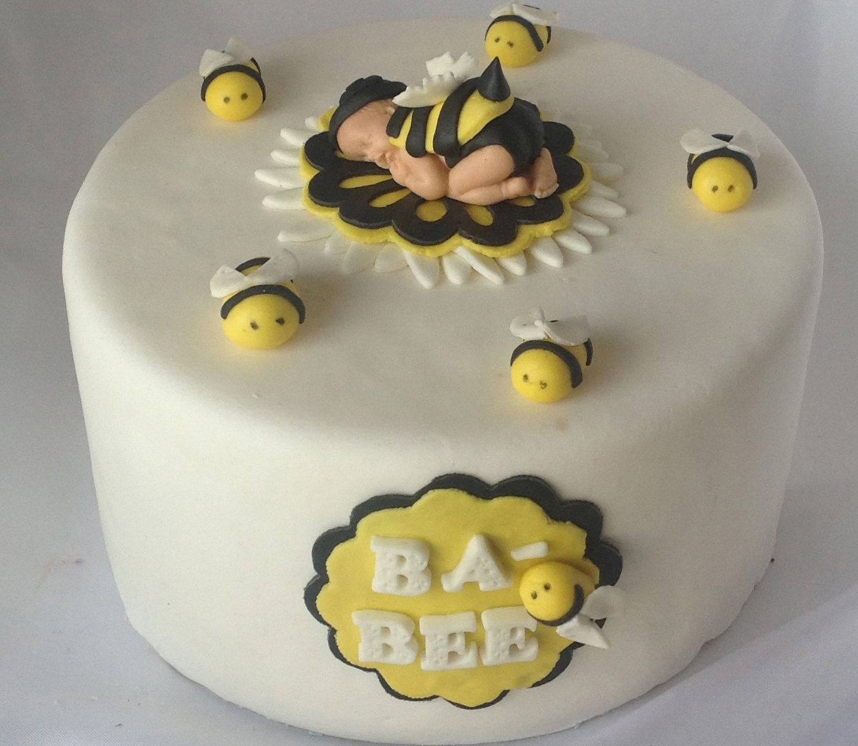 Bumble Bee Cake Bee Cake Topper Baby Shower First Birthday