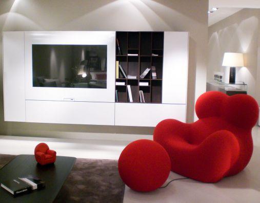 Soggiorno componibile Acerbis Smartwall a Varese - Sconto ...
