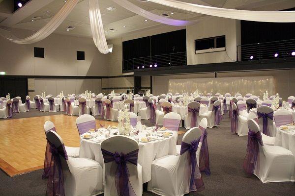 Toowoomba Wedding Highfields Cultural Centre Purple Wedding