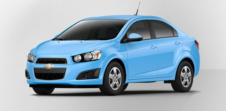 2014 Chevrolet Sonic Light Blue Chevrolet Chevy Sonic