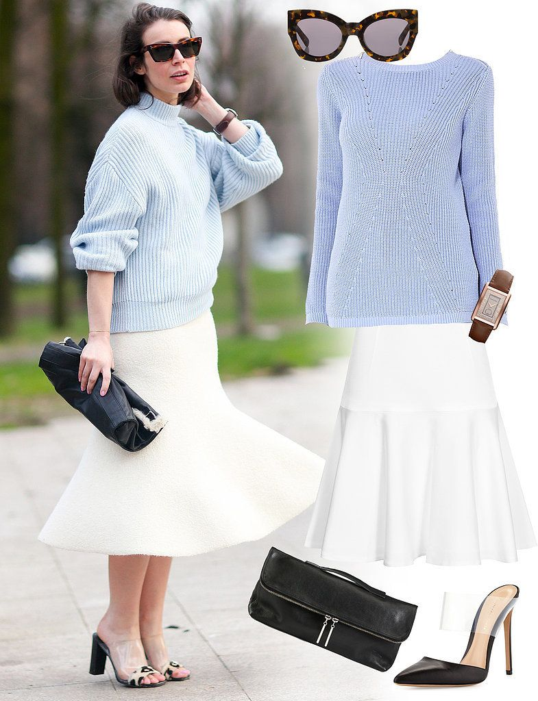 White Skirt Outfit Ideas - long white skirt outfit ideas and white ...