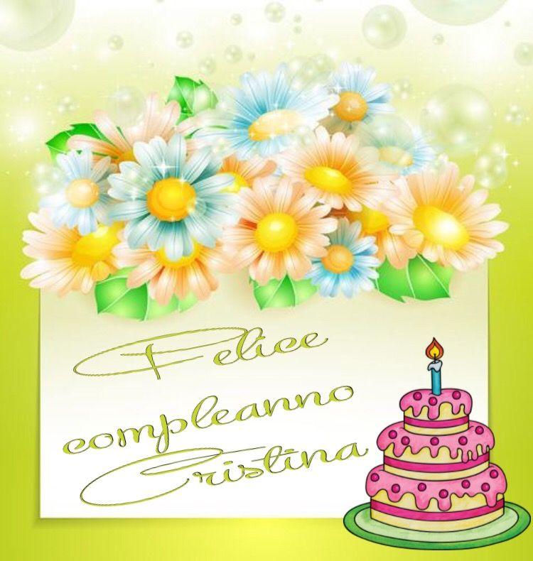 Immagini Di Buon Compleanno Cristina