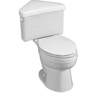 American Standard 270bd001 Corner Toilet Toilet Laundry Room Bathroom