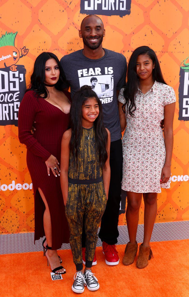 Kobe Bryant Attends The Kids Choice Sports Awards With His Gorgeous