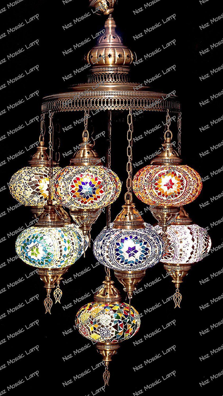Moroccan Home Decor Ideas By Mosaic Lamp Moroccan Home Decor