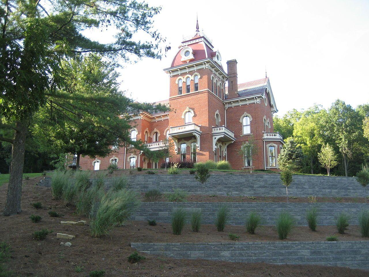 Benjamin Schenck Mansion in Switzerland County, Indiana