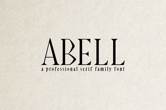 Download Abell Font Pack by CreativeWhoa on @creativemarket | Adobe ...