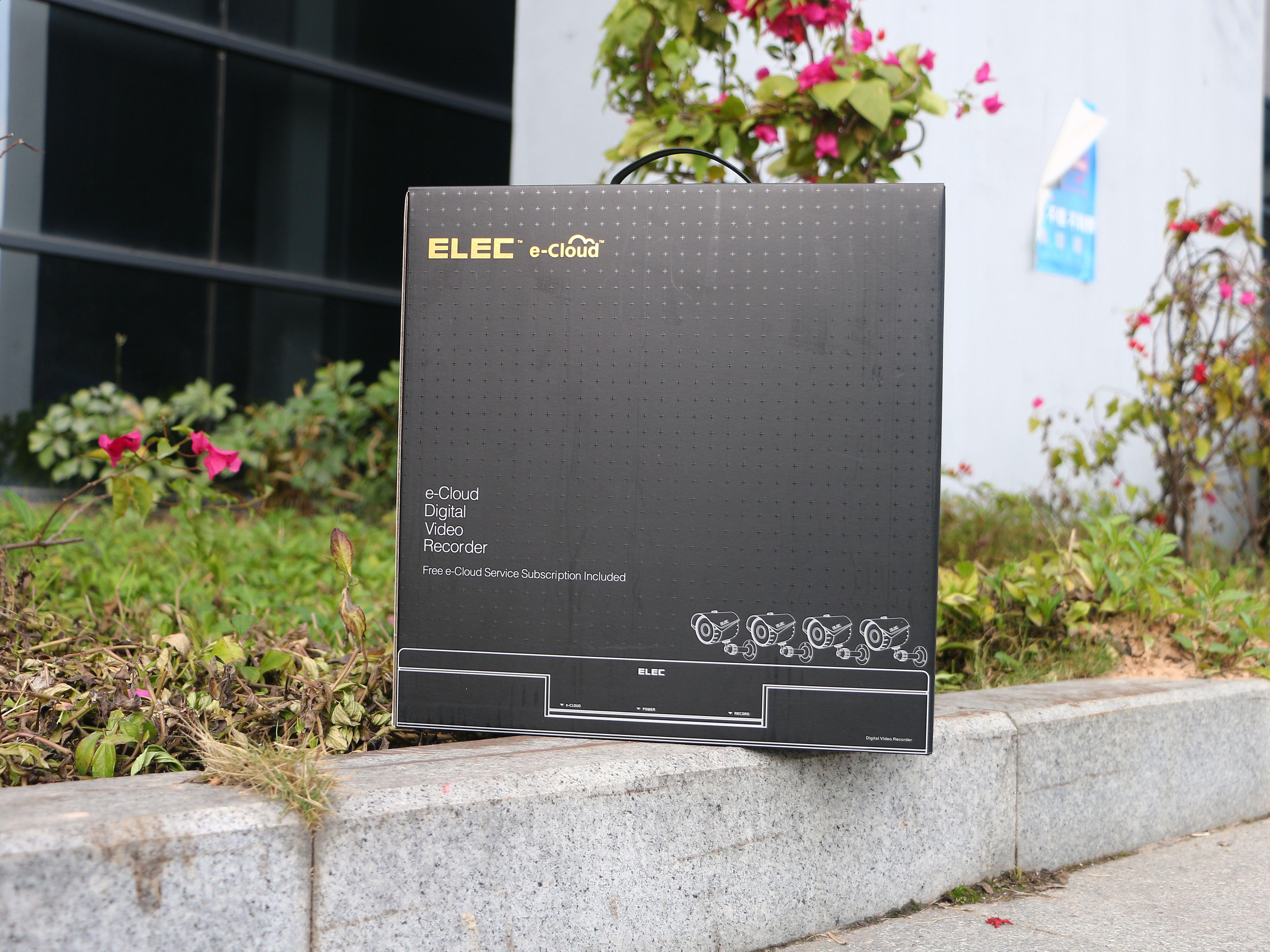 outer-package | ELEC surveillance dvr kit & security cameras ...