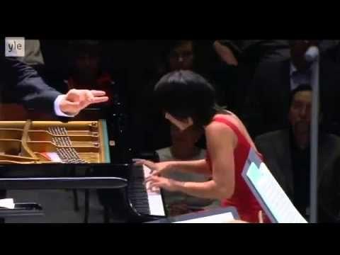 Pianist:     Yuja Wang The Piano Concerto No. 1 in B-flat minor, Op. 23  I Mov  Allegro non troppo e molto maestoso – Allegro con spirito (B flat minor → B flat major)                                                                                  Hannu Lintu, conductor Finnish Radio Symphony Orchestra