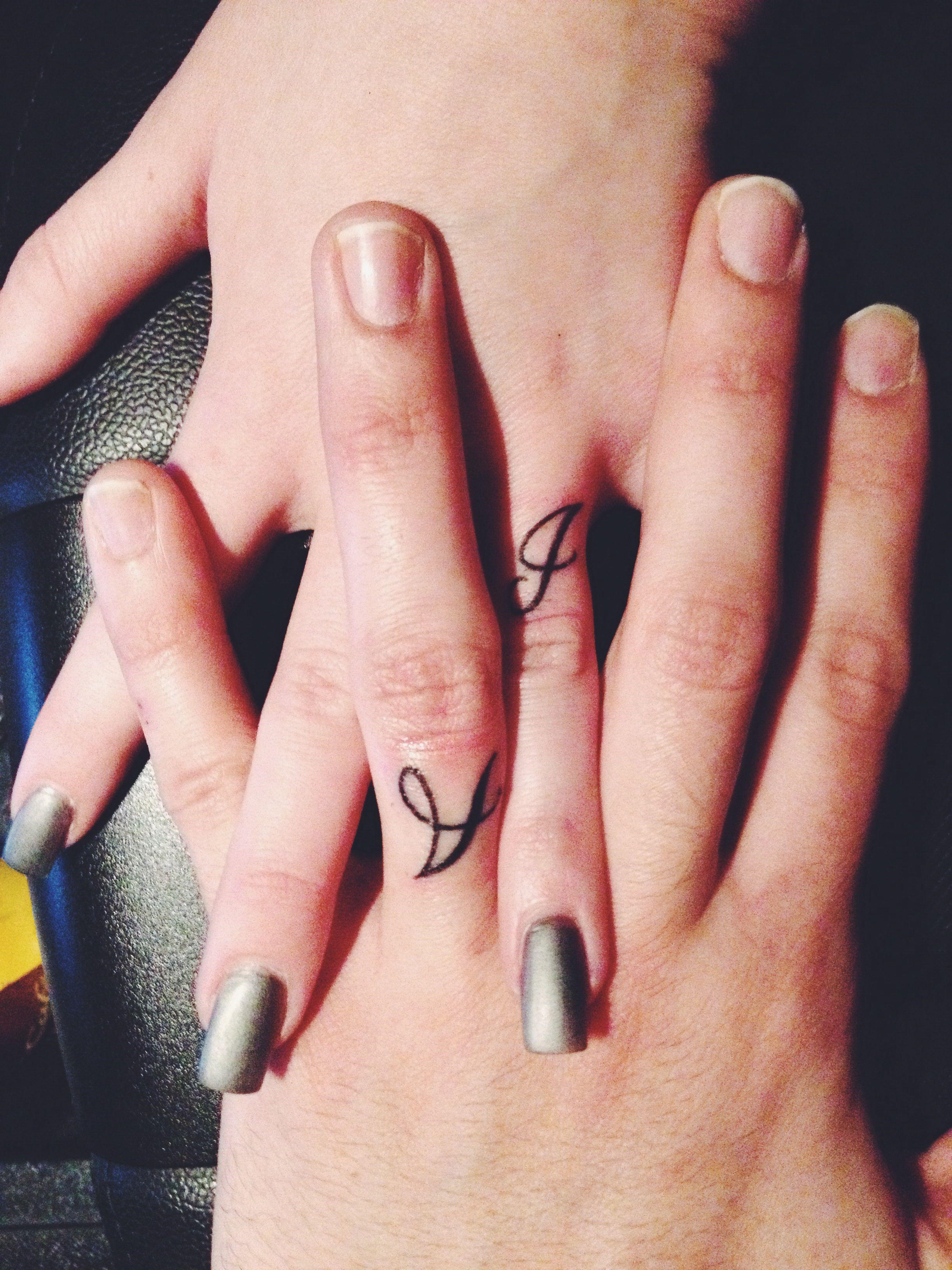 marriage ring finger tattoos tattoos pinterest. Black Bedroom Furniture Sets. Home Design Ideas