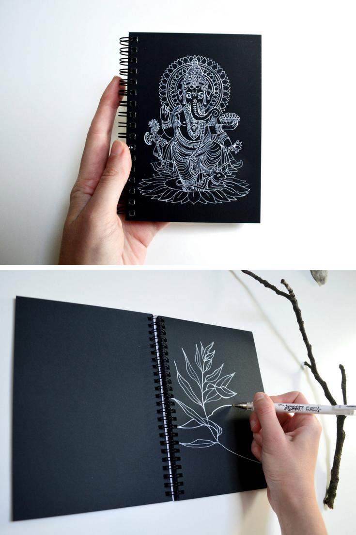 Journal Diary Bullet Journal Notebook Sketchbook Oriental Decor