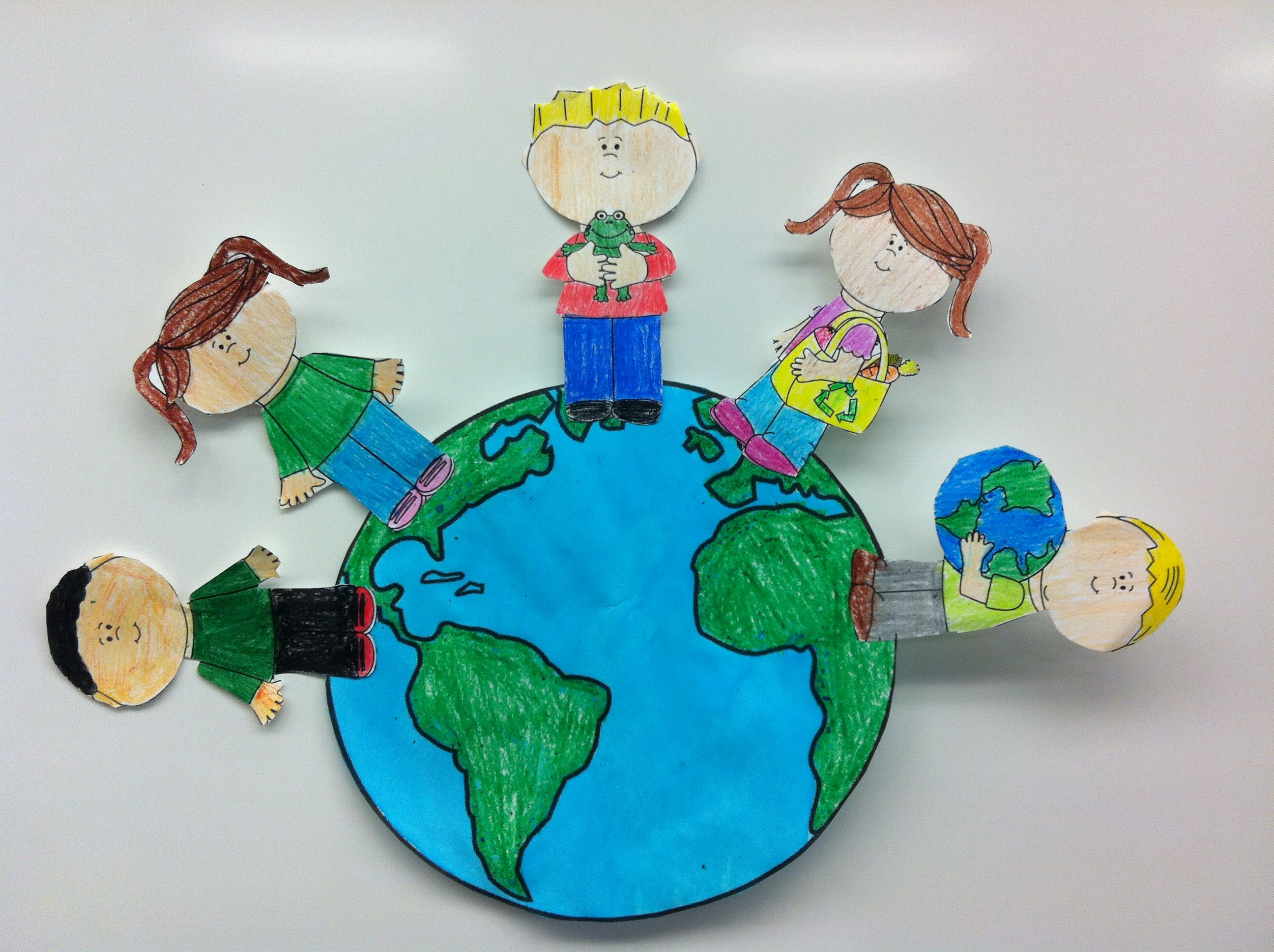 Earth Day Fun Kids Can Make A Difference