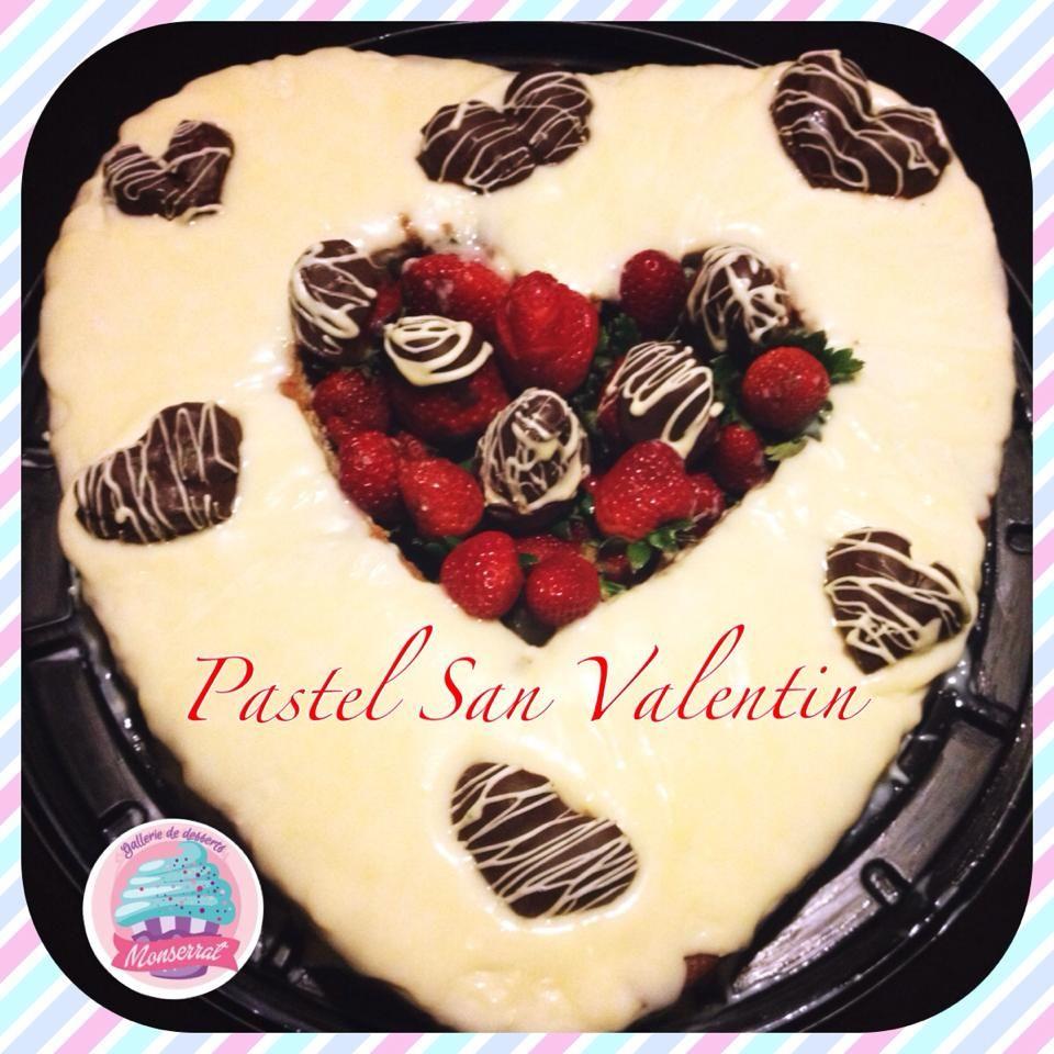 Pastel San Valentin!!! es un pastel de vainilla y chocolate ...