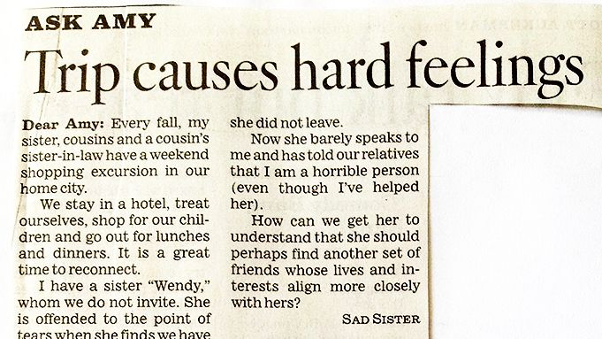 Advice Columnist Writes The Best Response To Viewers Question