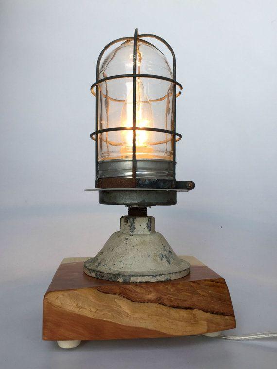 Vintage explosion proof lamp vintage by modernartifactdecor