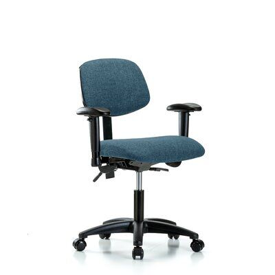 Symple Stuff Maegan Ergonomic Task Chair Upholstery Colour Colour Colour Blue Casters Glides Casters Customization Not Included In 2020 Chair Upholstery Mesh Office Chair Upholstered Dining Chairs