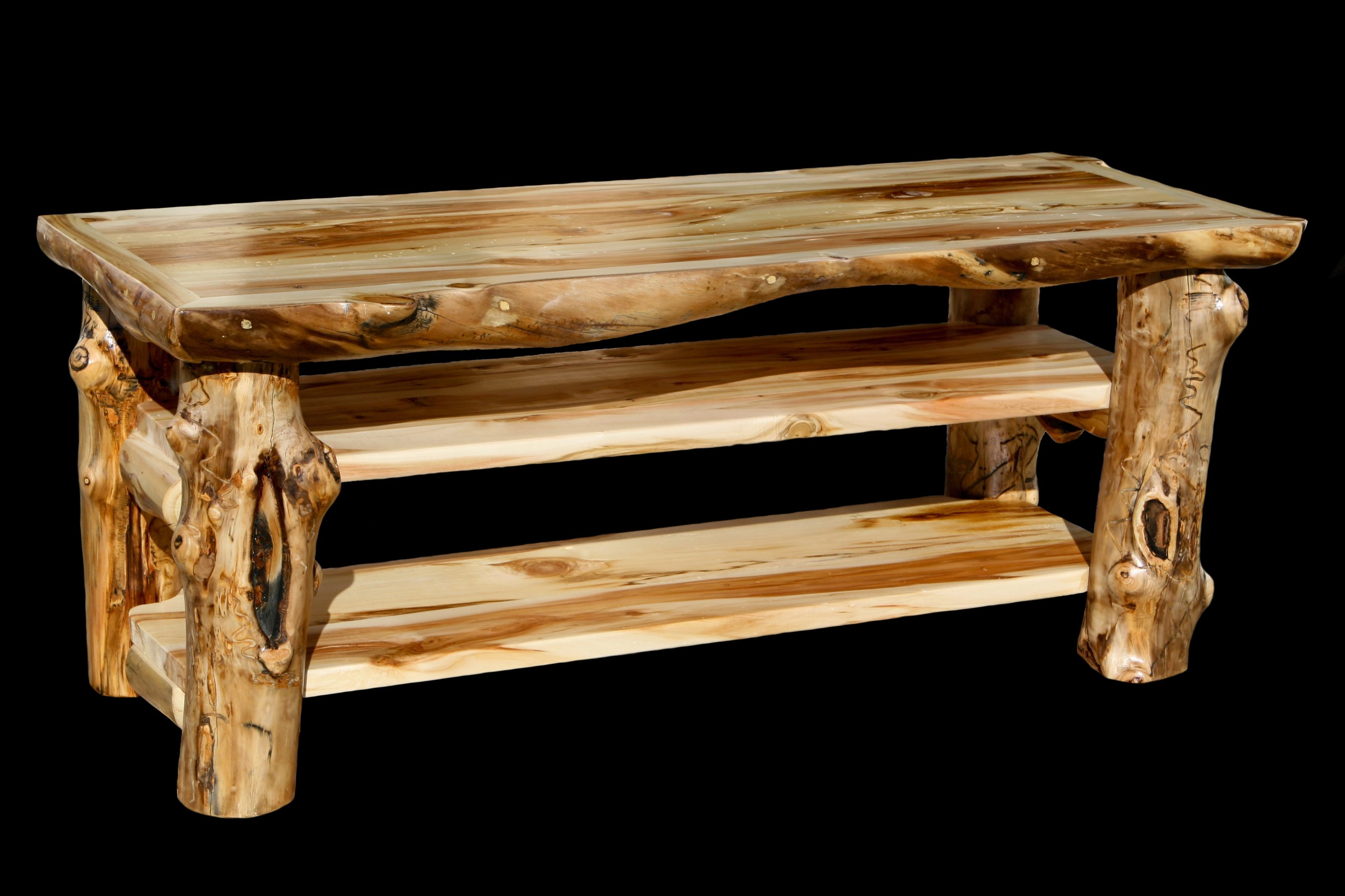 Superb Log Furniture Tv Stand #1 - We Offer This Grizzly Aspen Log TV Stand And Other Fine Rustic Aspen  Furniture. Browse Our Rustic Furniture Catalogs Now.
