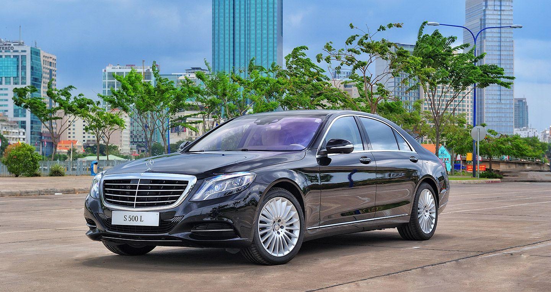 Giá Xe Mercedes GLC 250 - 0945 777 077: Mercedes S 500 L tại Việt Nam được trang bị hộp số tự động 9 cấp
