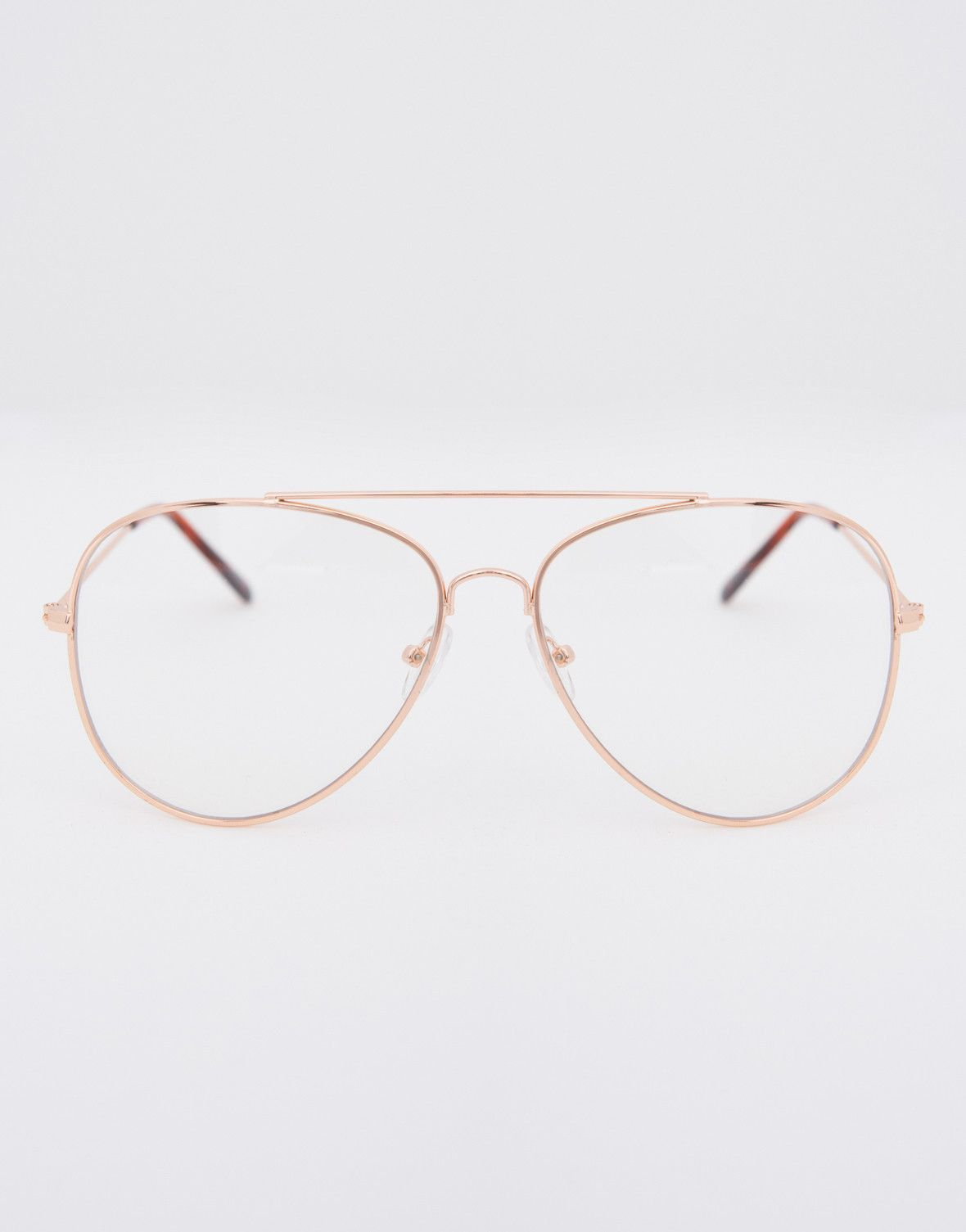 ffa824e3a43 Add a little mystery with these cool Aviator Clear Glasses. Celebs like  Kendall have mastered this trend and we are in love. These glasses come in  multiple ...