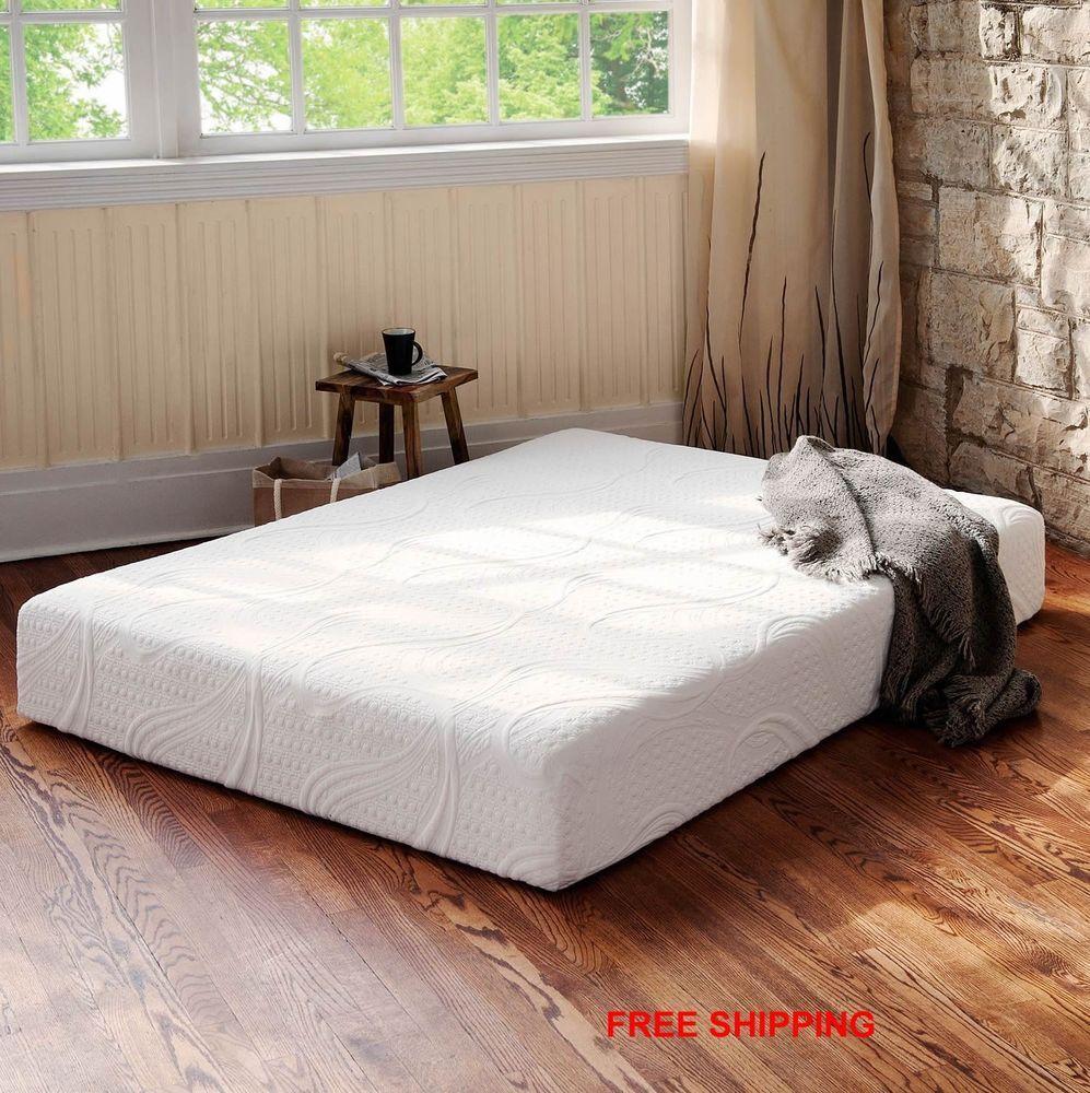 8 night therapy total comfort premium memory foam mattress twin