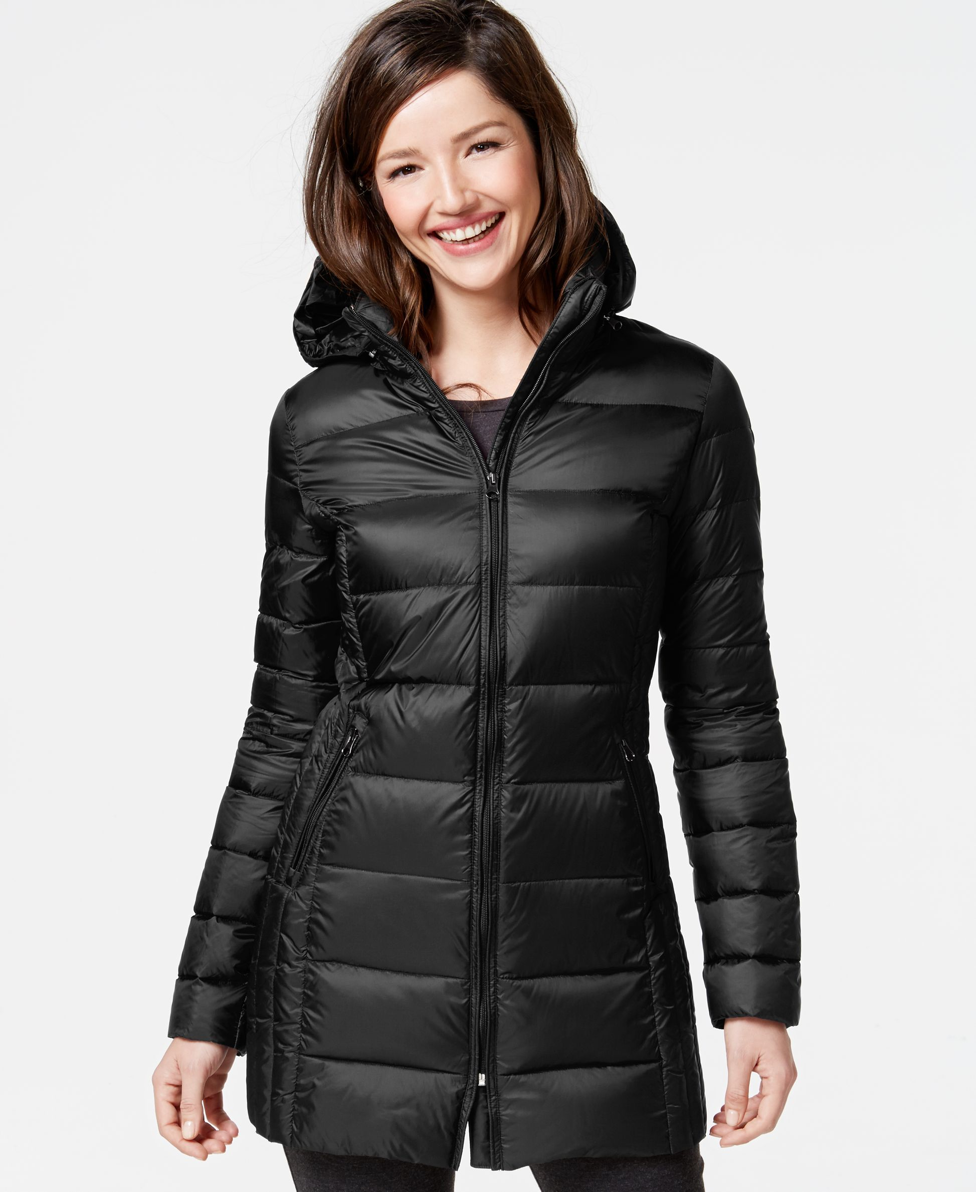 32 Degrees Quilted Down Packable Puffer Coat Coats Women Macy S Coats For Women Puffer Coat Puffer [ 2378 x 1947 Pixel ]