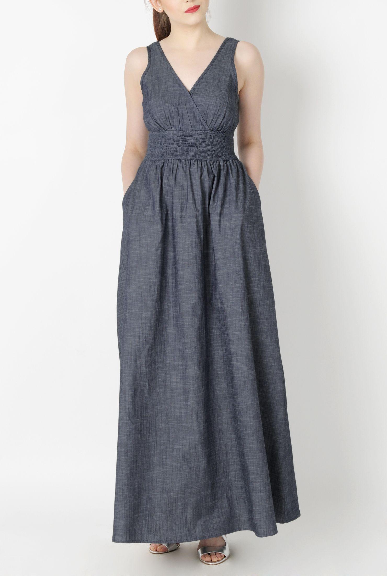 Chambray Maxi Dress, Plus Size Maxi Dresses Shop women\'s ...