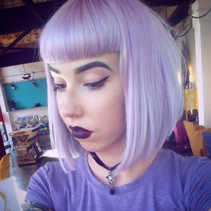 Gorgeous Pastel Purple Hairstyle Ideas Balayage Hair Styles Designs