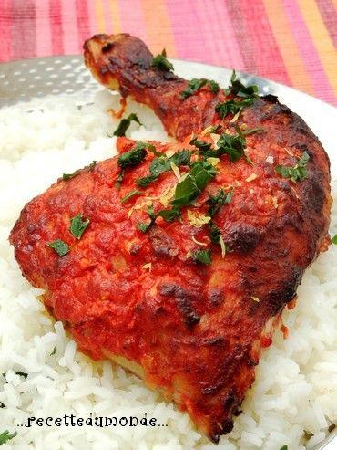 Poulet Tandoori Préparation Minutes Attente Heures Cuisson - Cuisine indienne poulet tandoori