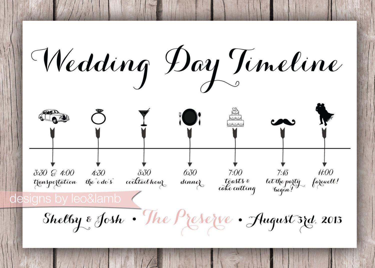 wedding day timeline matrimonio clod pinterest wedding