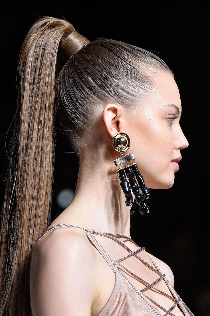 ponytail ideas #ponytail #hairstyles #longhair | ladies fashion