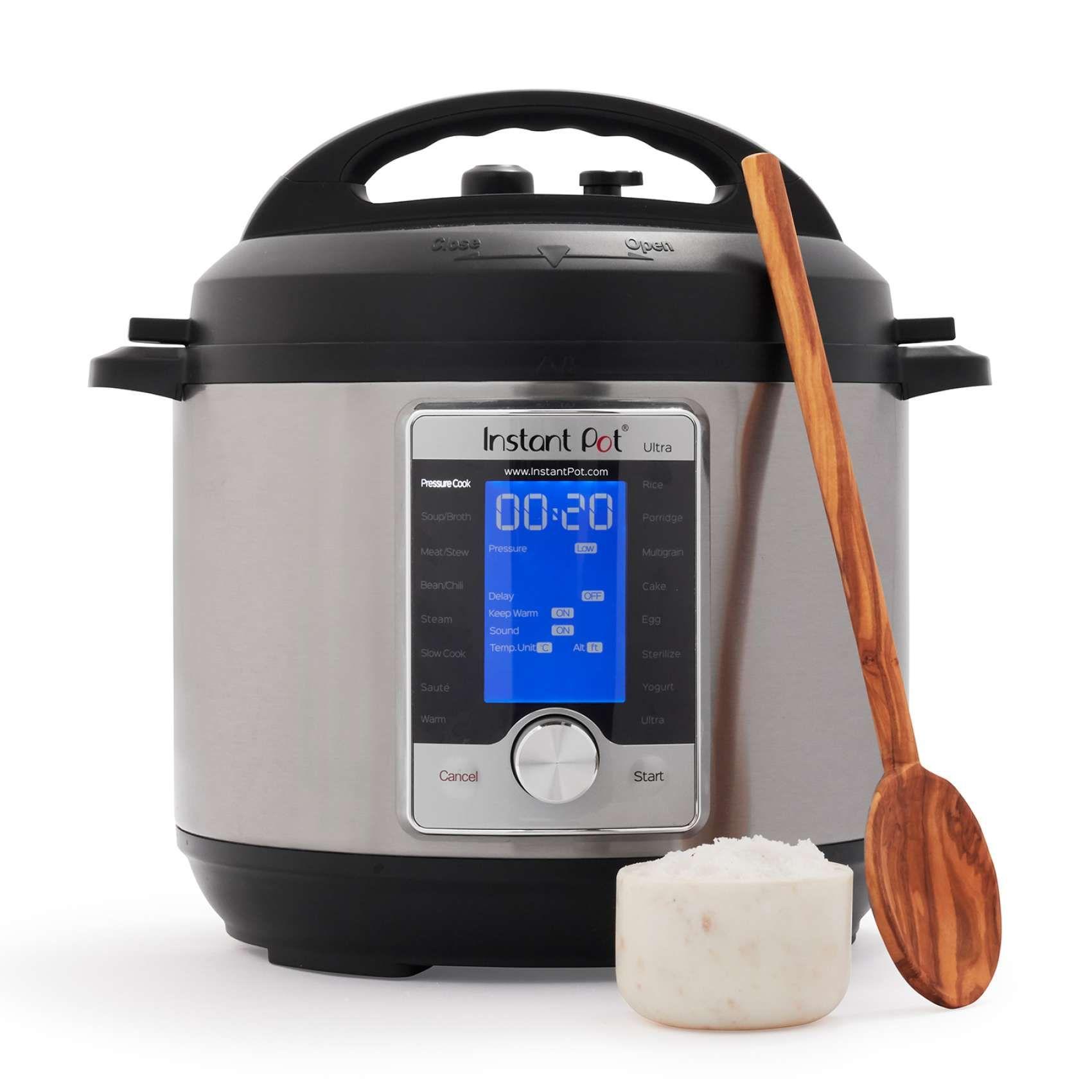 Instant Pot Ultra Instant pot, Instant pot steam