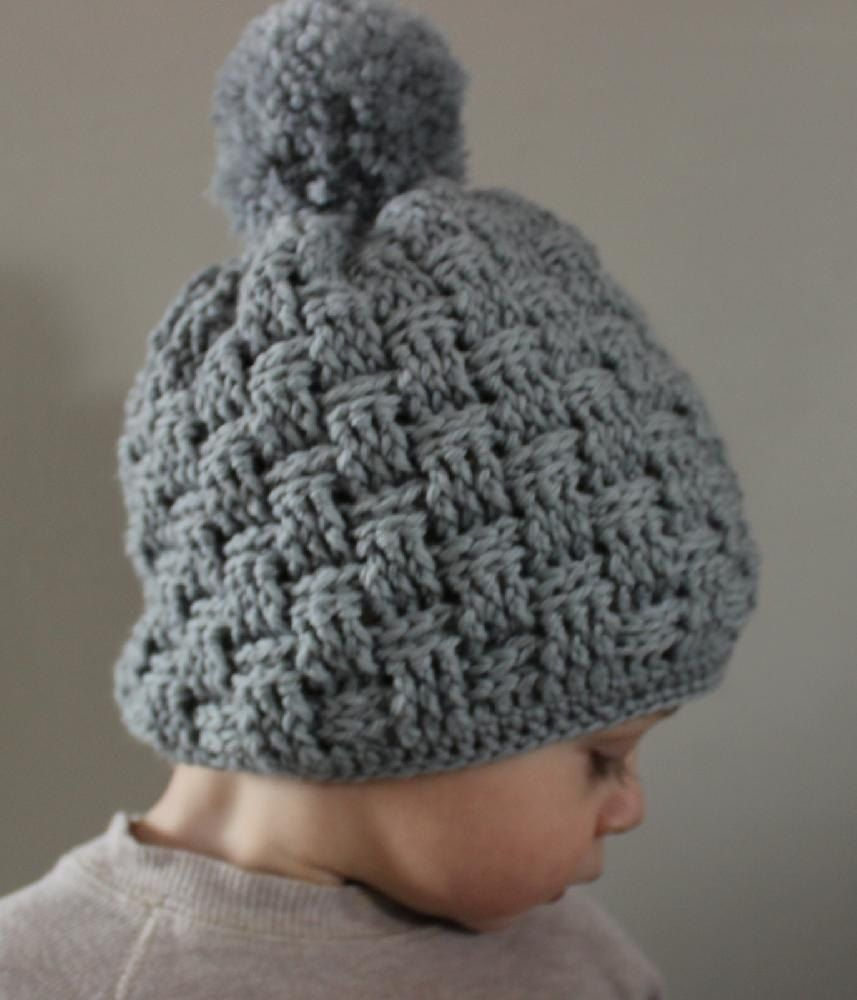 f7df316fb14 Little Basket Weave Hat Crochet pattern by Little Squirrel Designs. Find  this pattern and more baby inspiration at LoveCrochet.Com!
