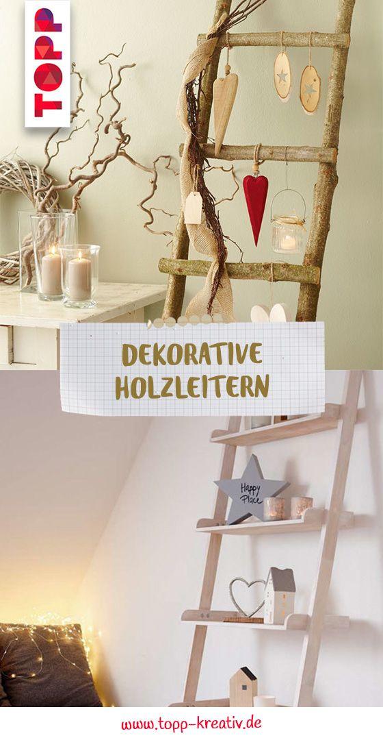 Photo of Dekorative Holzleitern