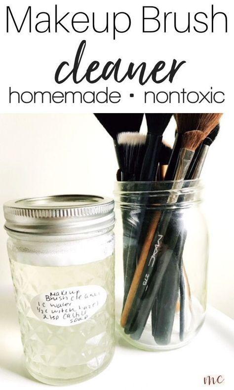 Diy Makeup Brush Cleaner Recipes: 12 Tips For Cleaning Your Makeup... DIY Makeup Brush Cleaner Recipes: 12 Tips For Cleaning Your Makeup... Diy Makeup diy makeup brush cleaner