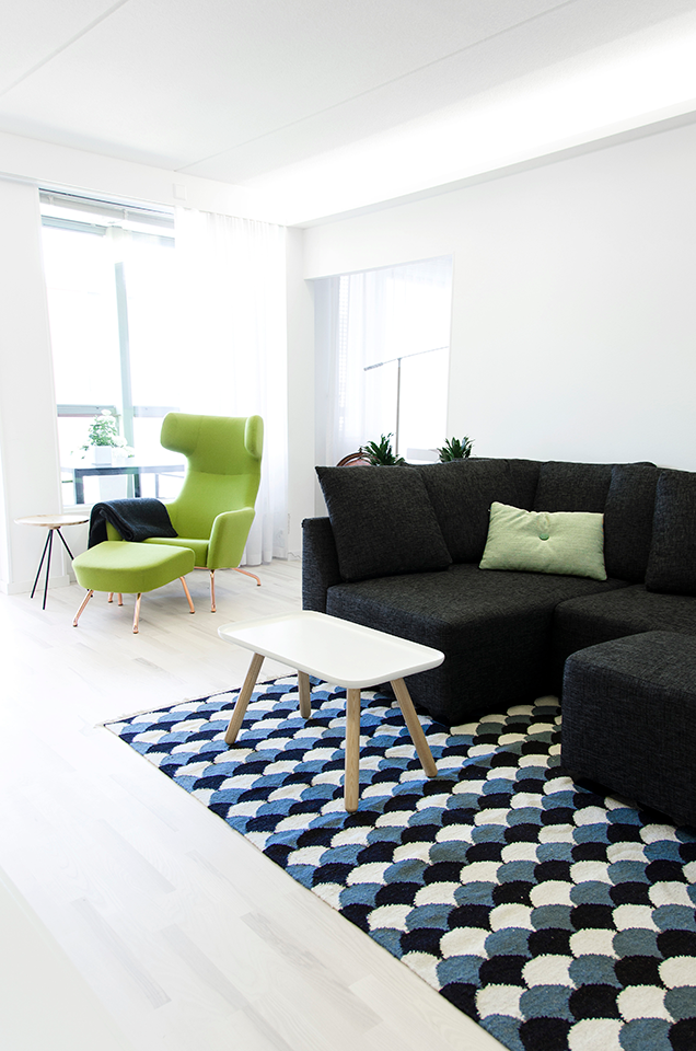 Scandinavian interior design, living room. Skandinaavinen sisustussuunnittelu, olohuone. Skandinavisk inredningsdesign, vardagsrum.