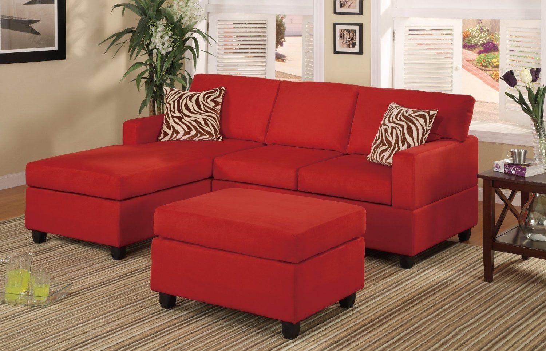 Desain Ruang Tamu Sofa Merah  Set sofa, Set ruang keluarga, Mebel
