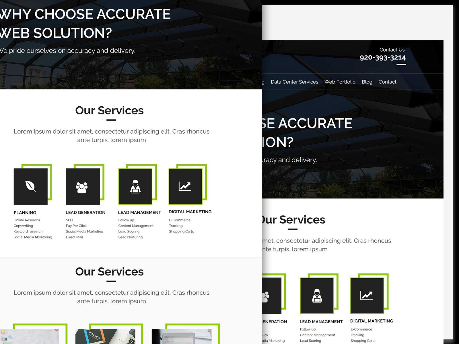 Mockup Website Psd Mobile App Landing Page Online Web Design